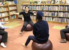 ちょいトレ!1月 ~バランスボール編~