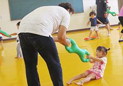 パパと一緒に親子体操 9月